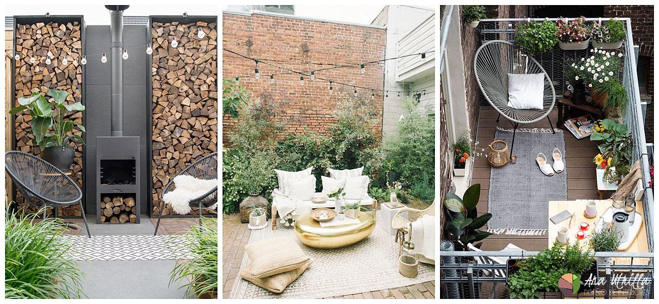Utiliza telas para vestir tu terraza también en verano