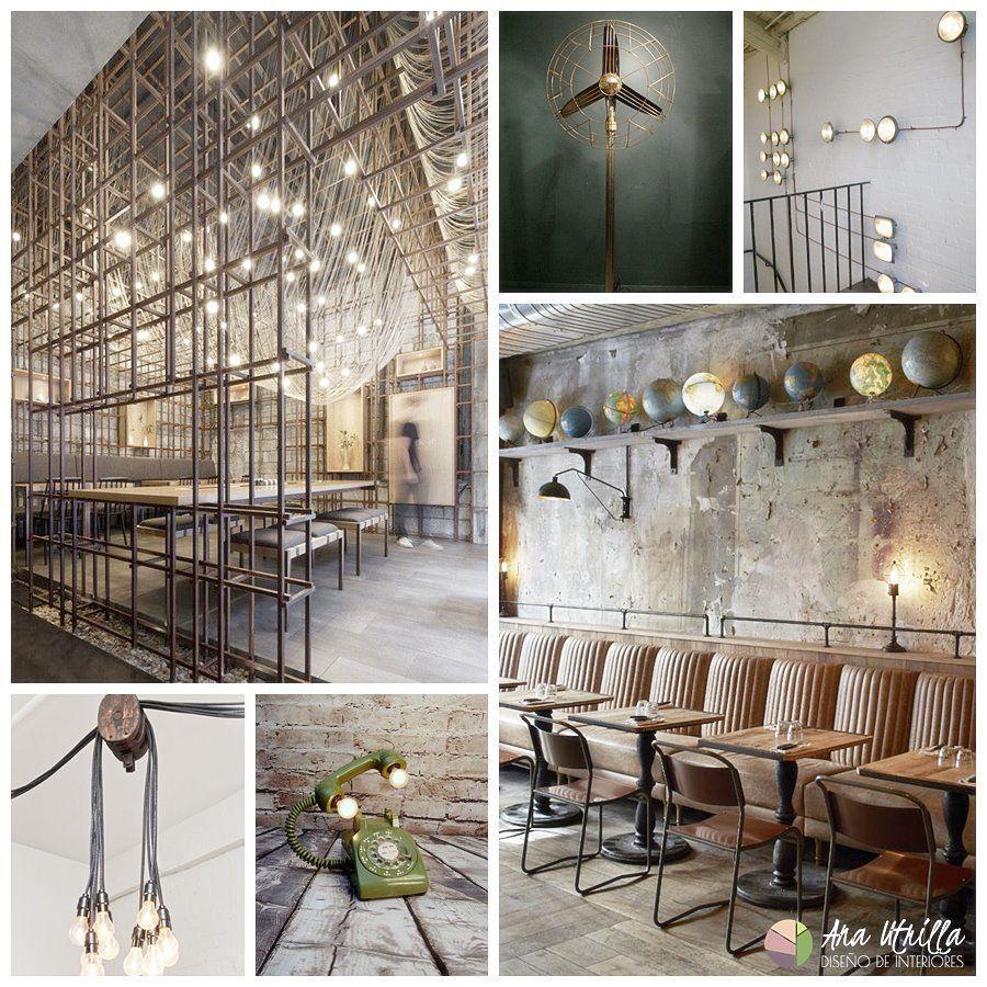 Iluminación para un espacio de estilo industrial