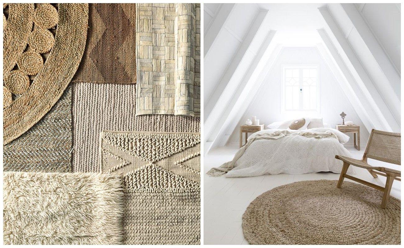 Sustituye tus alfombras, por otras de fibras naturales