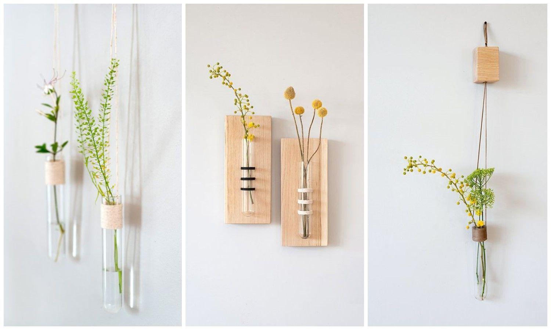 Decora tu pared favorita con flores en verano