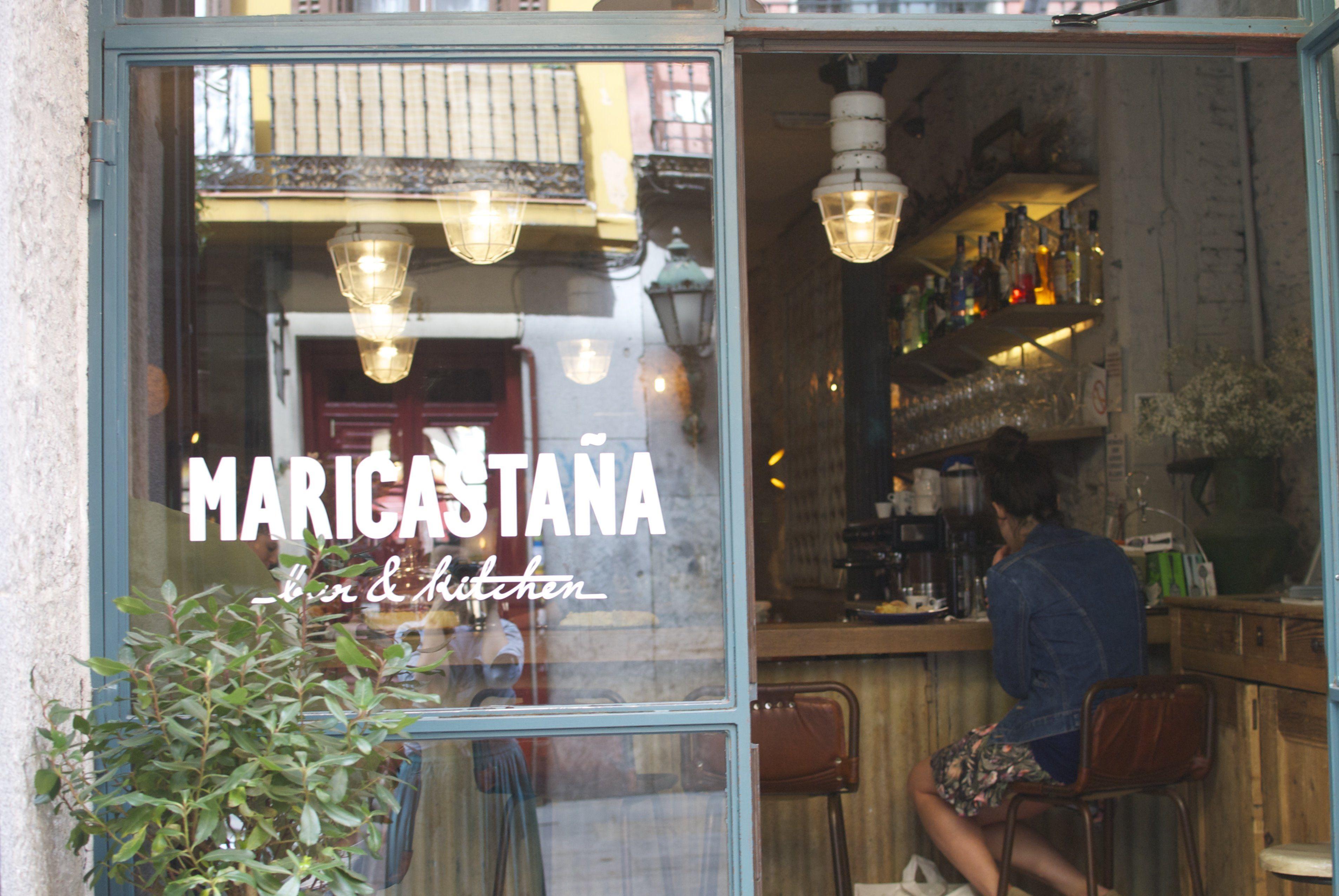 Restaurante madrileño Maricastaña de estilo vintage e industrial