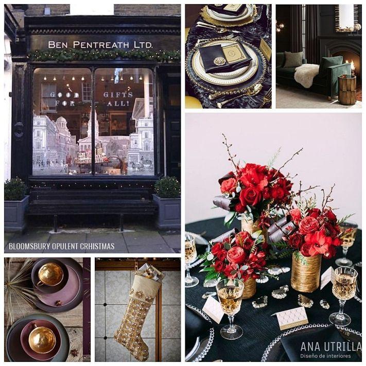Consejos, ideas, inspiración para completar tu decoración de Navidad con las principales tendencias de Navidad @Utrillanais