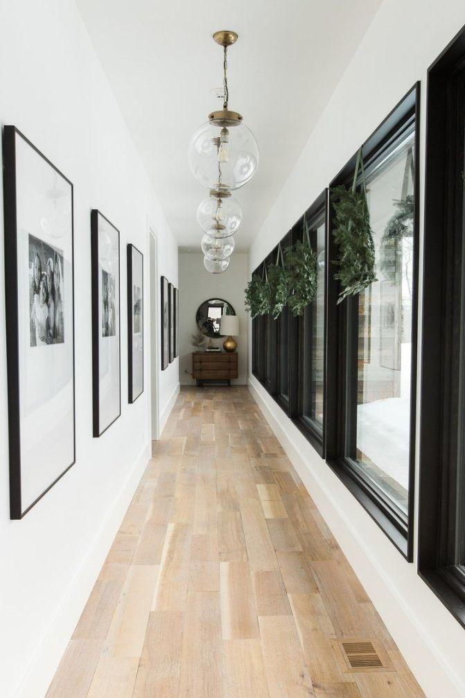Decoración de interiores de estilo farmhouse moderno con accesorios de navidad de tonos neutros @Utrillanais