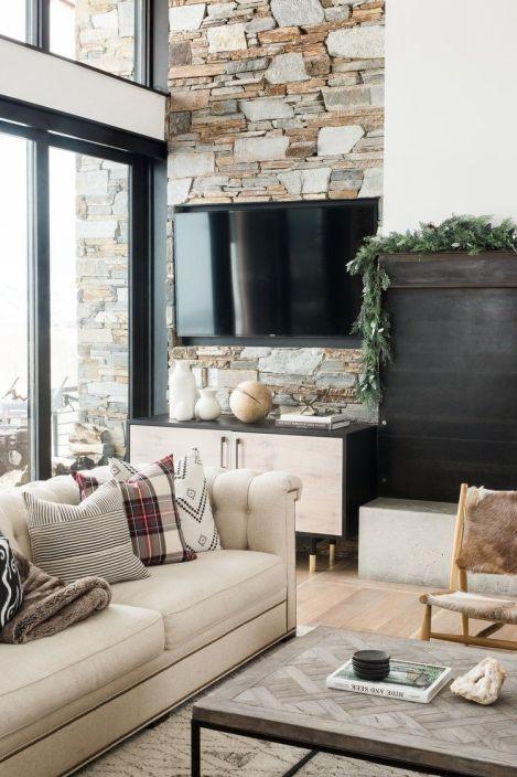 Decoración de interiores de estilo farmhouse moderno cálido, acogedor y funcional en tonos neutros @Utrillanais