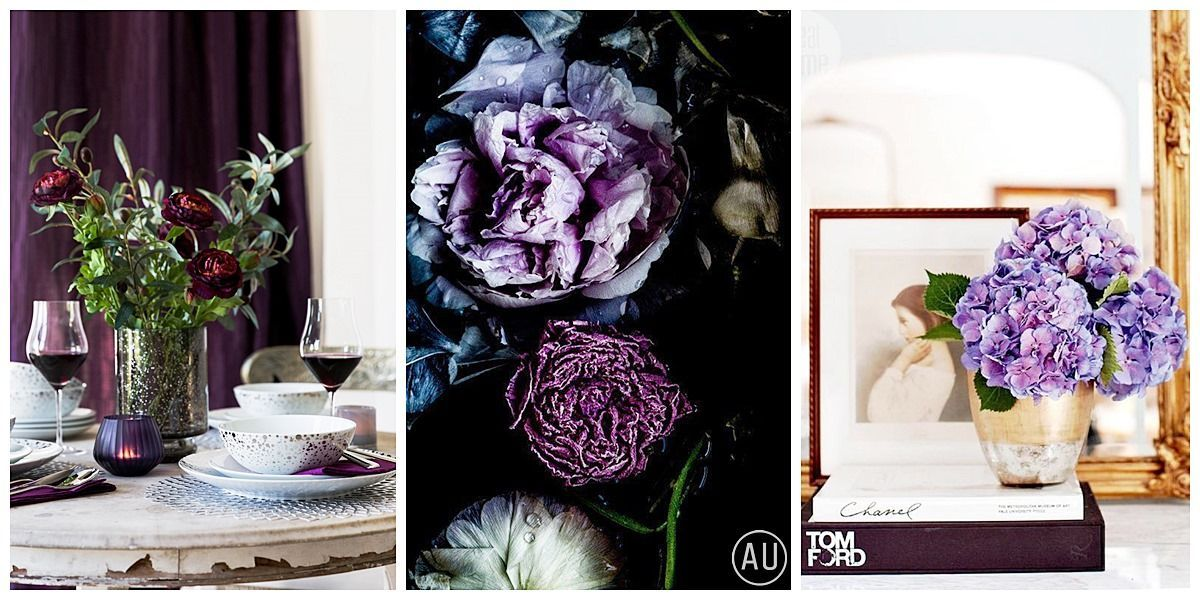 Ultra violet como color de acento para decorar tus estancias @Utrillanais