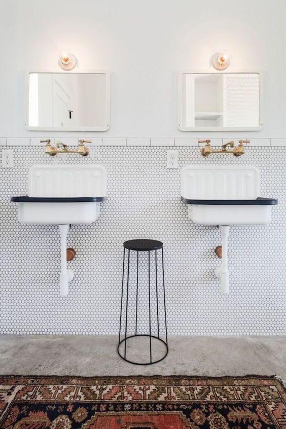 Bucket sink, tendencia en lavado instalado en la pared 2018
