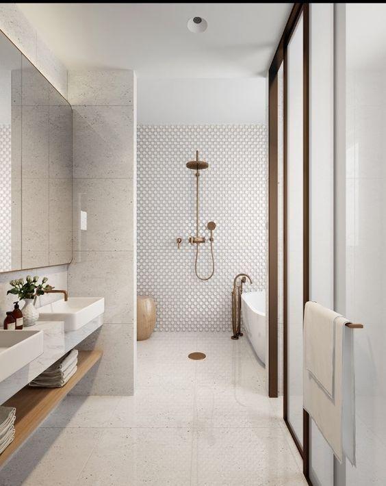 Baño en paralelo super completo con todas las piezas @Utrillanais