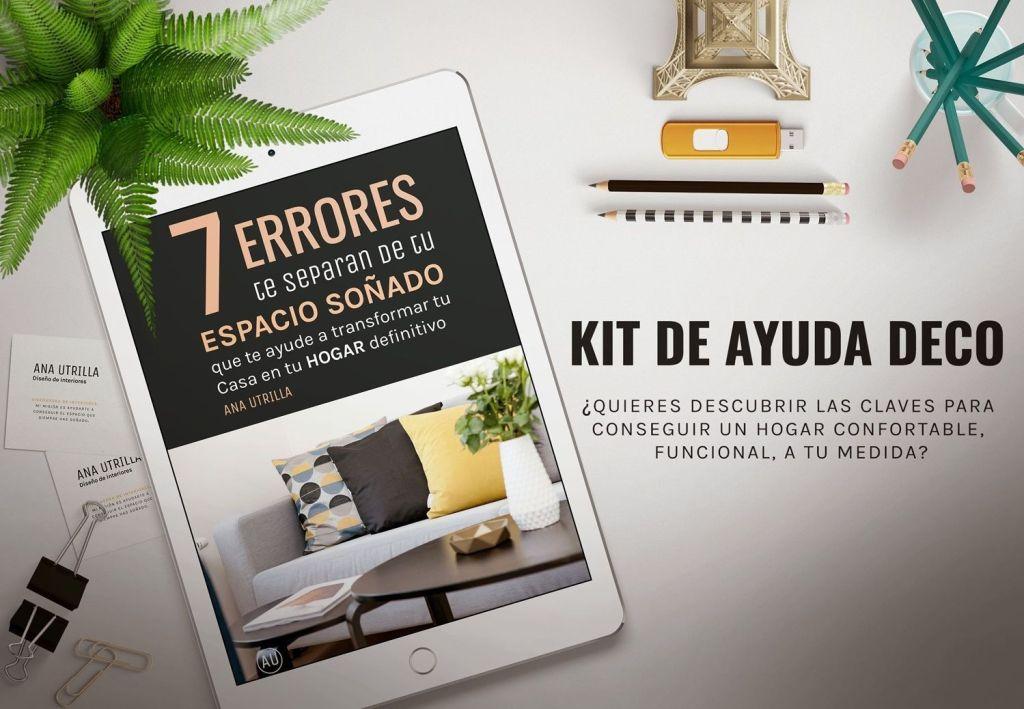 Kit de inicio ayuda deco, ebook gratuito para ayudarte a empezar y entender mejor tu HOGAR @Utrillanais