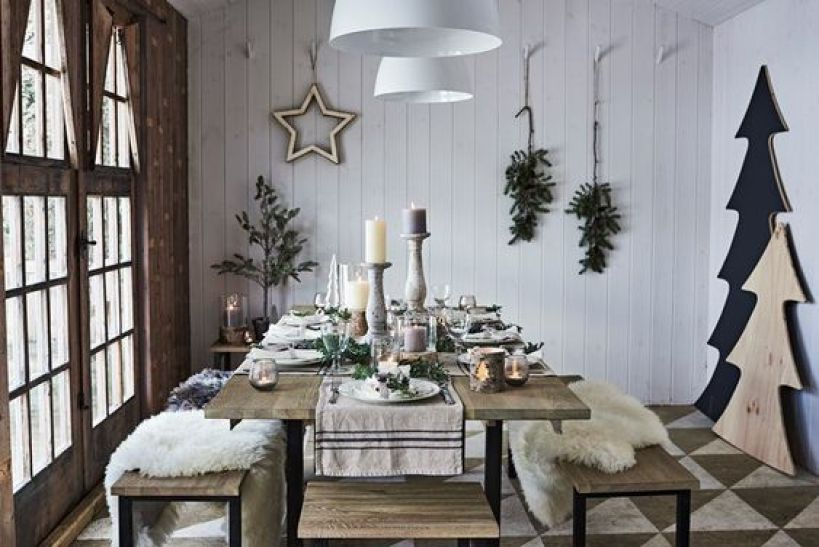 Tres combinaciones de colores que nunca fallan para decorar tu casa con la Navidad @Utrillanais
