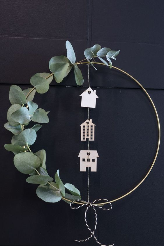 Adornos de Navidad Diy de estilo nórdico para decorar tu casa @Utrillanais