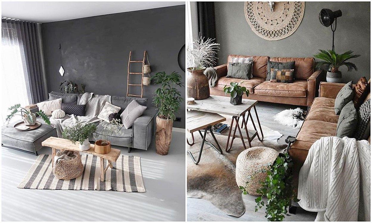 Sofás confortables de estilo nórdico industrial para toda la familia, consejos en decoración de interiores para escoger tu mobiliario @Utrillanais