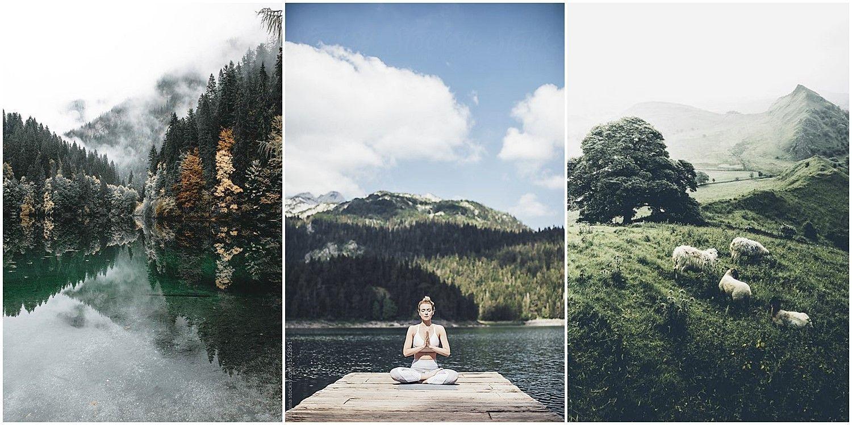 Mindfulness decor trend, tendencia estilos de decoración de interiores mindfulness conexión con la naturaleza @Utrillanais