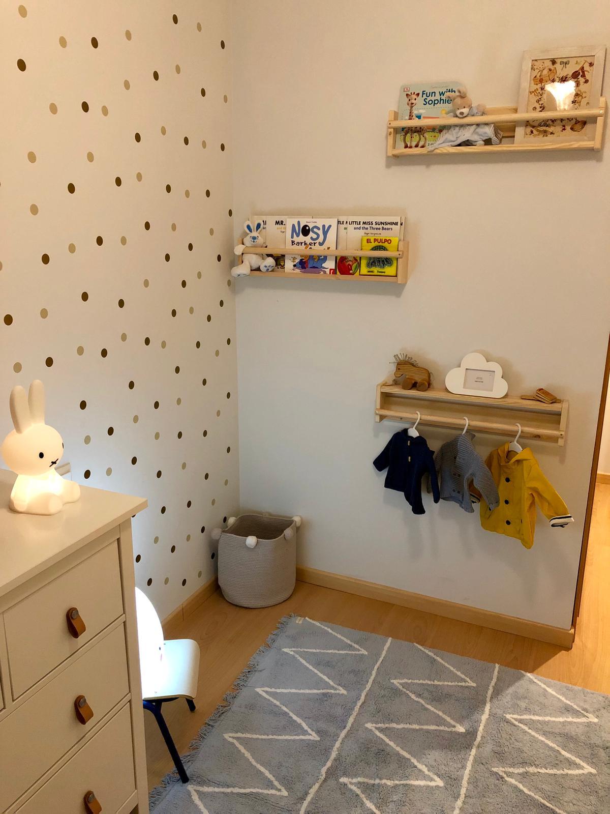 Después de proyecto de interiorismo Montessori en tonos neutros y estilo nórdico-clásico en Madrid por Ana Utrilla @Utrillanais