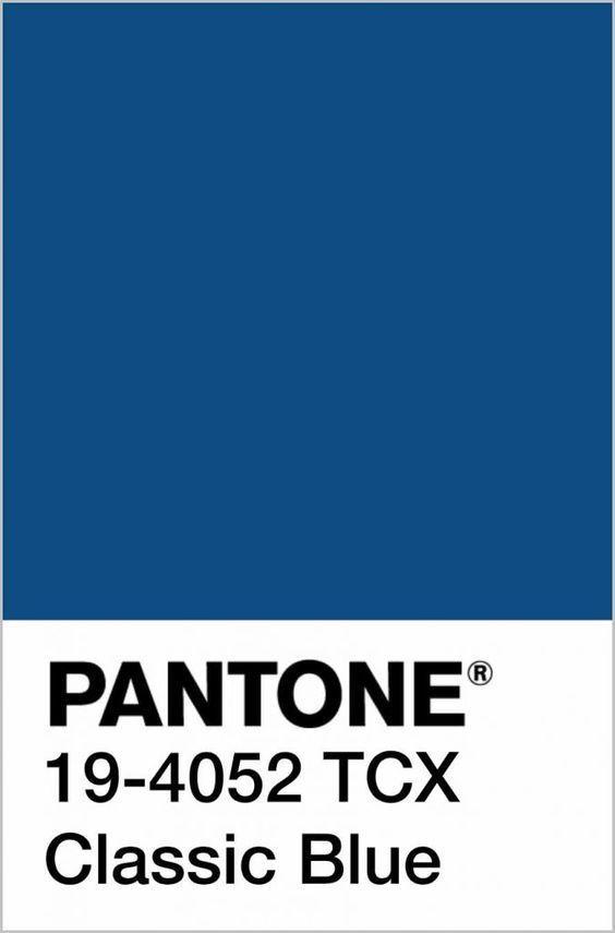 BLUE CLASSIC PANTONE 2020 Interior Design, 7 maneras de combinar este tono azul en tu decoración de interiores por Ana Utrilla @Utrillanais