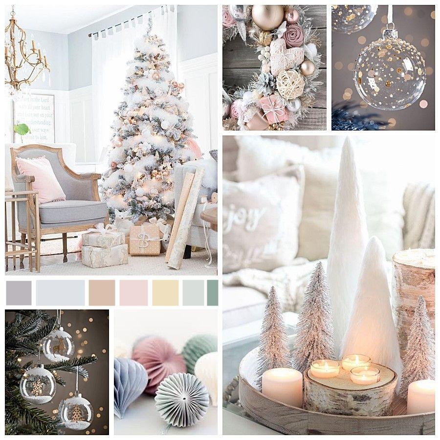 Moodboard tendencias de decoración para Navidad 2020, paleta de colores deseos de invierno @utrillanais