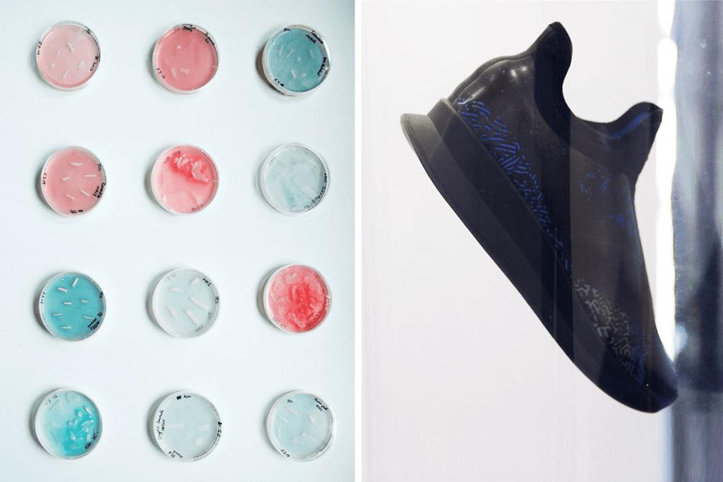 Biotecnología para crear unas deportivas con microorganismos que actúen contra el calor y el sudor, creando una ventilación del calzado única, tendencias en diseño e interiorismo 2020 @Utrillanais