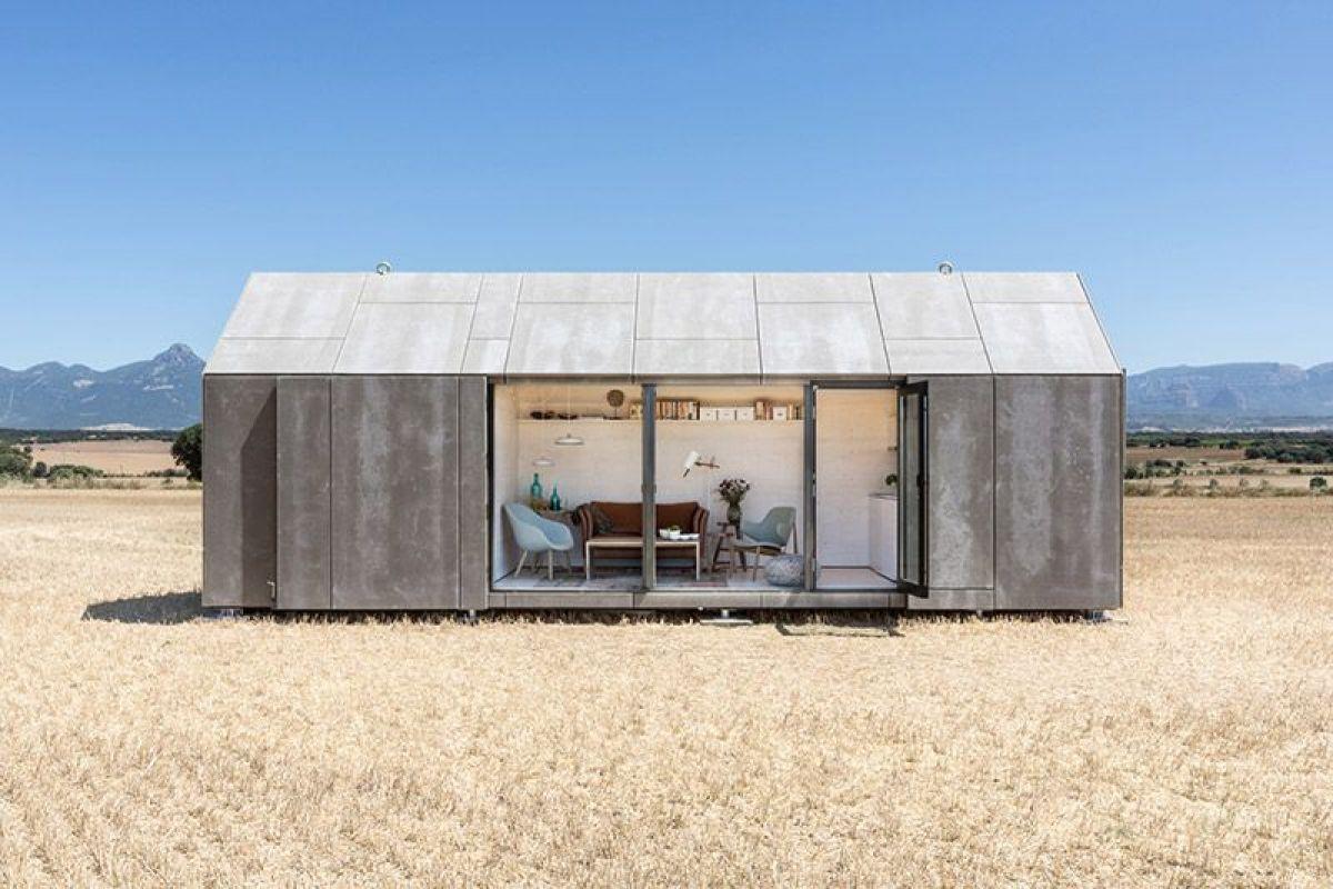 Casa transportable, proyecto diseño Batavia, tendencia diseño e interiorismo 2020 @Utrillanais