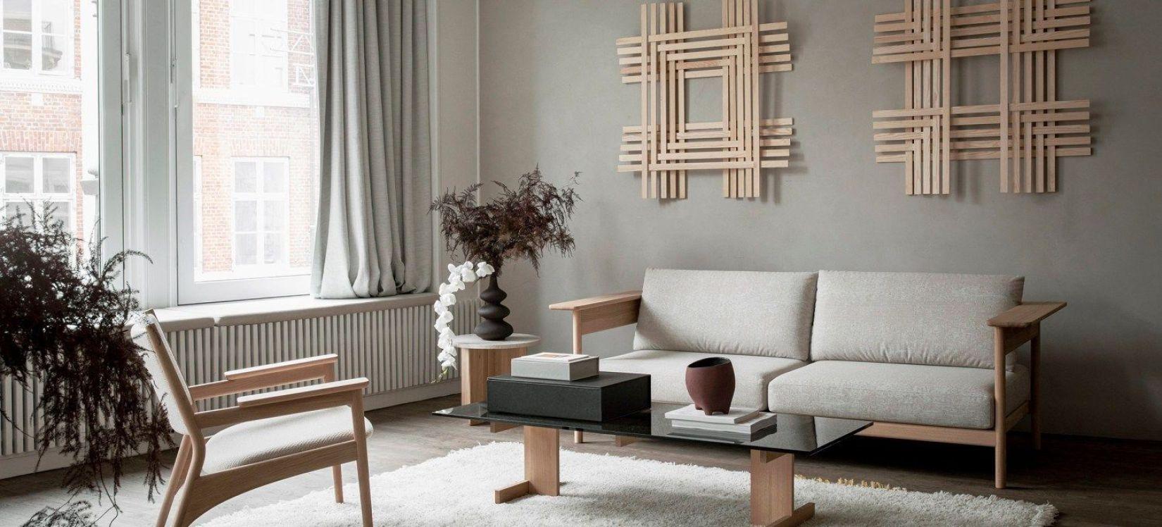 Karimoku Case Study, salón de estilo japandi en tonos neutros evocan la tranquilidad y la calma, tendencias diseño e interiorismo 2020 @Utrillanais