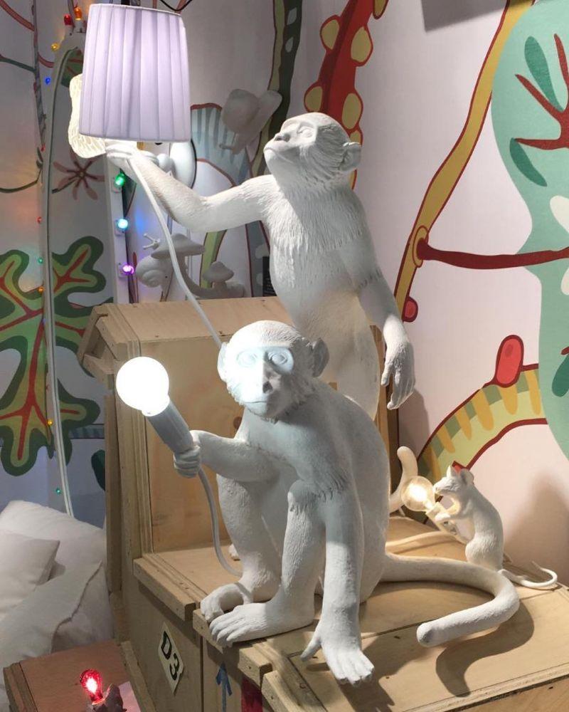 Lámparas en forma de animal de Seletti, de estilo original, atrevido y divertido, tendencia interiorismo 2020 @Utrillanais