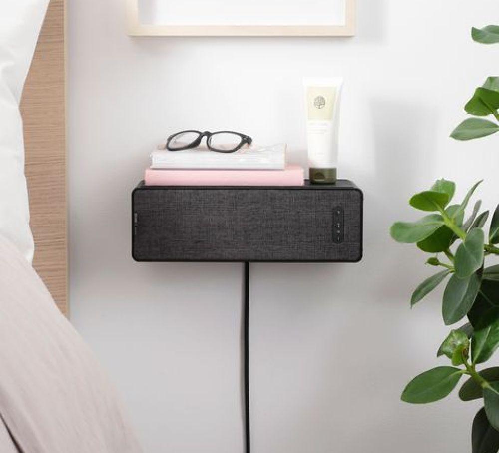 SYMFONISK altavoz de Ikea en tono negro