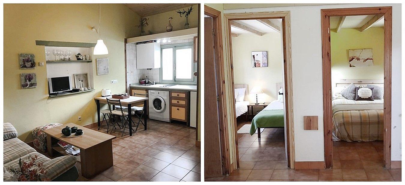 Antes de proyecto de diseño e interiorismo 3D en Santander, reforma integral para casa rural con ecanto #AnaUtrillainteriorismo #slowliving @utrillanais