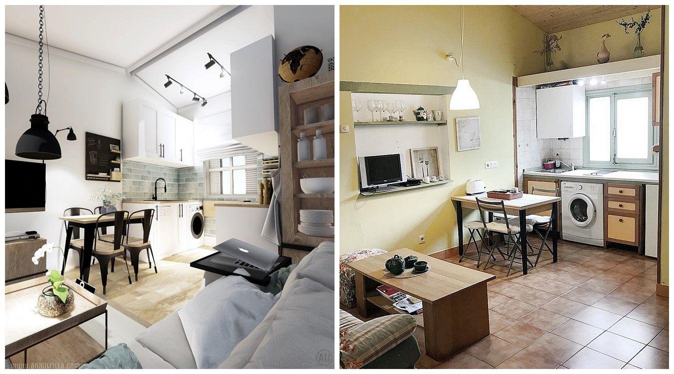 Después y antes de casa de abuela a casa rural con encanto en Santander, proyecto de diseño e interiorismo 3D, reforma integral #Diseñocasarural #slowliving #turismorural @utrillanais