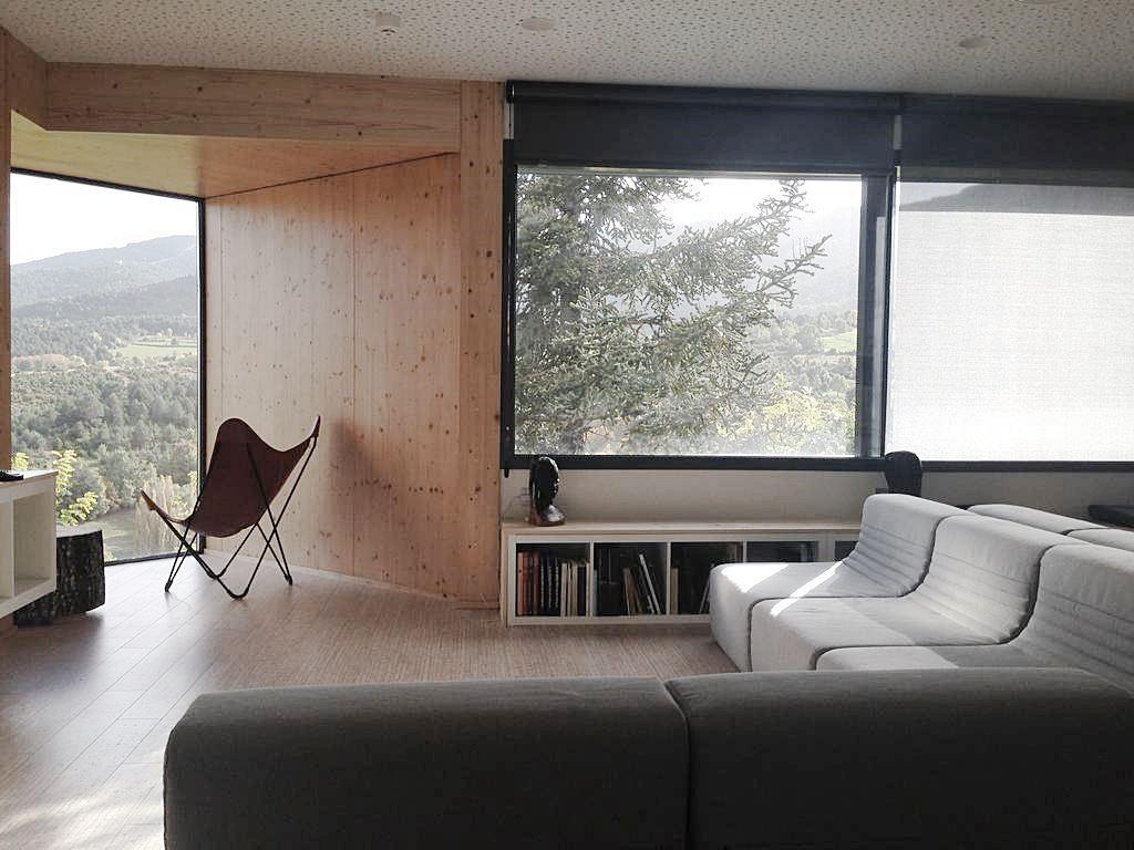 Zonas comunes de Terra Bonansa hotel con encanto adaptado para personas con movilidad reducida #interiorismocasasrurales @utrillanais