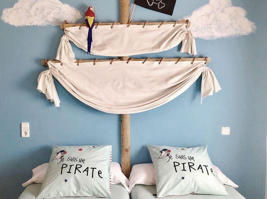 Habitación infantil de estilo pirata #Anautrillainteriorismo #slowtravel @utrillanais