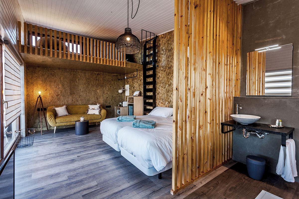 Habitación de estilo nórdico moderno #interiorismocasasrurales #diseñocasasconencanto #anautrillainteriorismo @utrillanais
