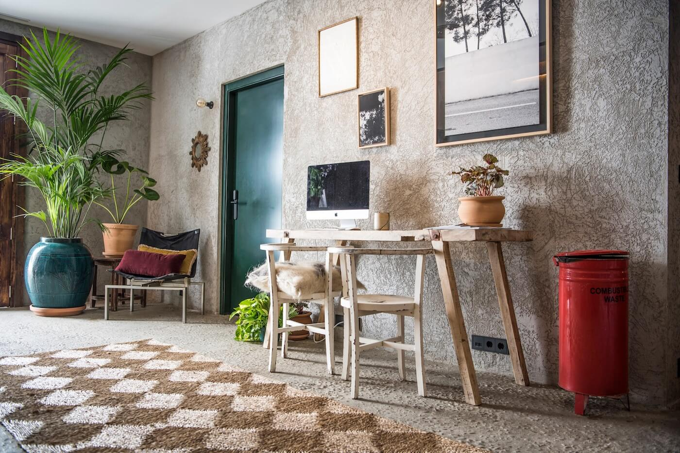 Zonas comunes e Internet de hotel Kook en Tarifa