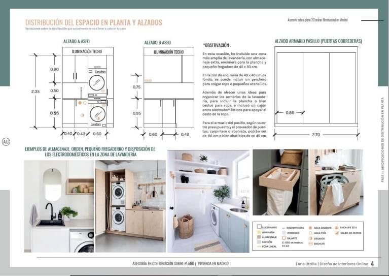 Servicio de diseño de interiores online, redistribuye el espacio de tu casa antes de invertir en su reforma, y todo sobre plano. #AnaUtrilla #Interiorismoonoine #Diseñodeinterioresonline