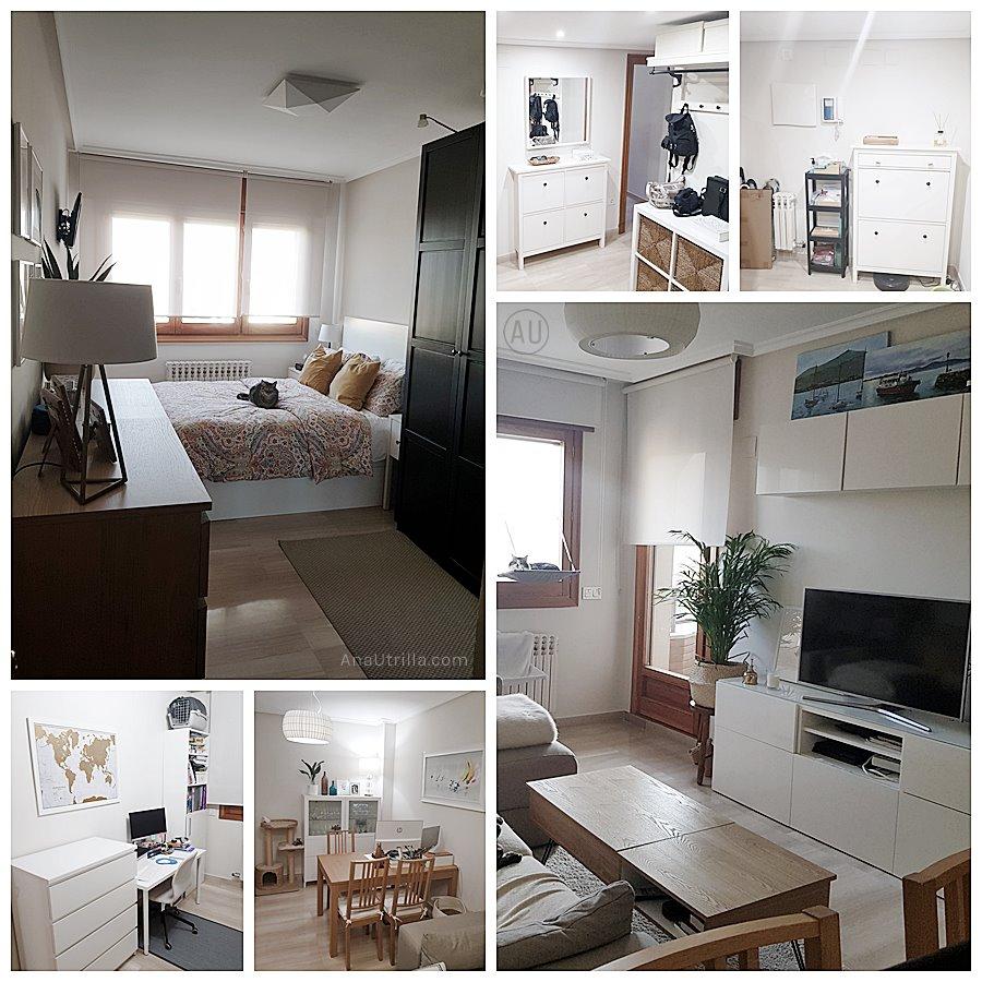 Estado inicial de la vivienda en Zaragoza, antes de contratar el servicio de interiorismo en 2D online. Proyecto a medida online @Utrillanais #AnaUtrillainterioristaonline