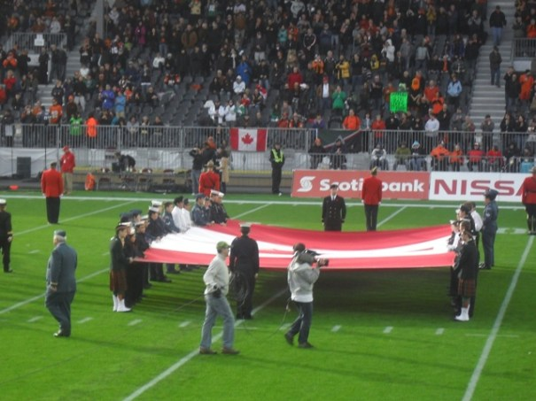 BC Lions Half Time Parade 12