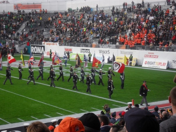 BC Lions Half Time Parade 17