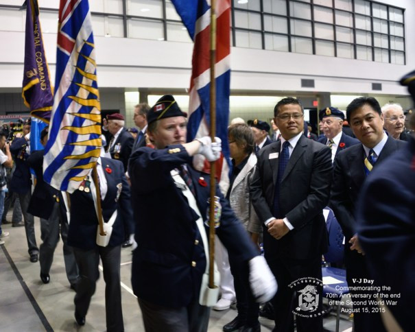 ANAVETS B.C. Command led by piper James Thibault