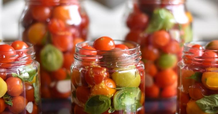 Inkokta tomater