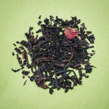 hé Noir aromatisé fraise des bois