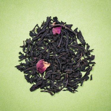 Thé Noir aromatisé rose
