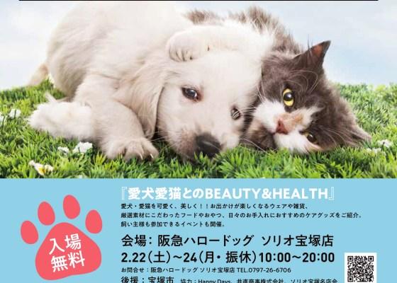 阪急ハロードッグフェスタ2020 『愛犬愛猫とのBEAUTY&HEALTH』 開催!