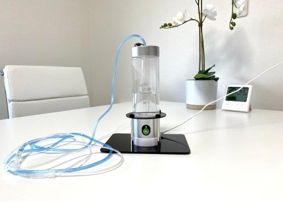 ダブル水素ボトル:充電式高濃度水素ガス&水素水生成器|犬のベッド:アンベルソ