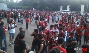 Menunggu pintu dibuka #ForzaMilan