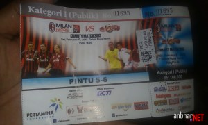Tiket Milan Glorie 2013