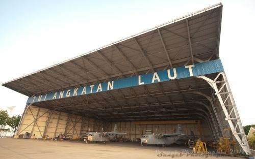 Hangar 2 Lanudal Juanda, Surabaya (sumber: indoflyer.net)