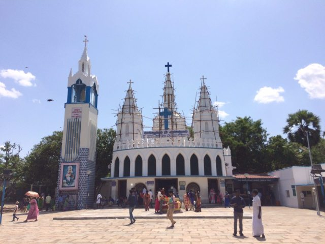 Velankanni Church Anbu John Boban