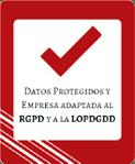 Certificado adaptado RGPD