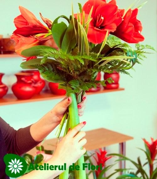 Buchete de flori tehinca spirala