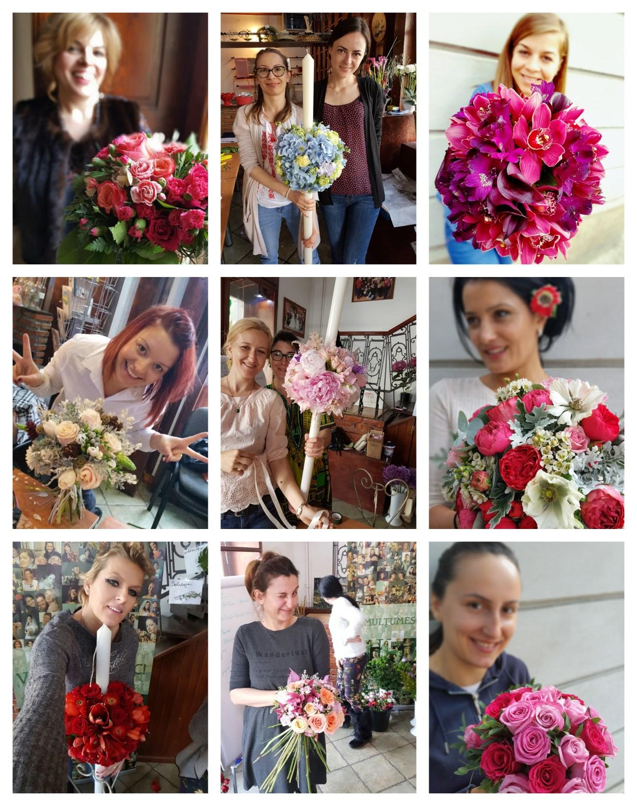 Curs floristica Atelierul de flori
