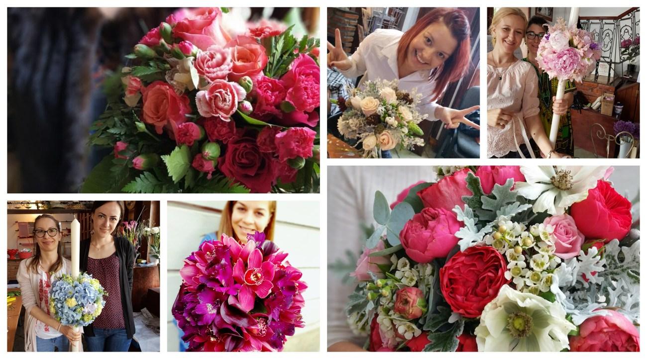 curs aranjamente florale nunta