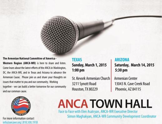 3.15 ANCA WR Texas and Arizona Town Halls