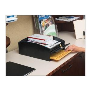 MMF Industries STEELMASTER LockIt&quot ! Desktop Inbox